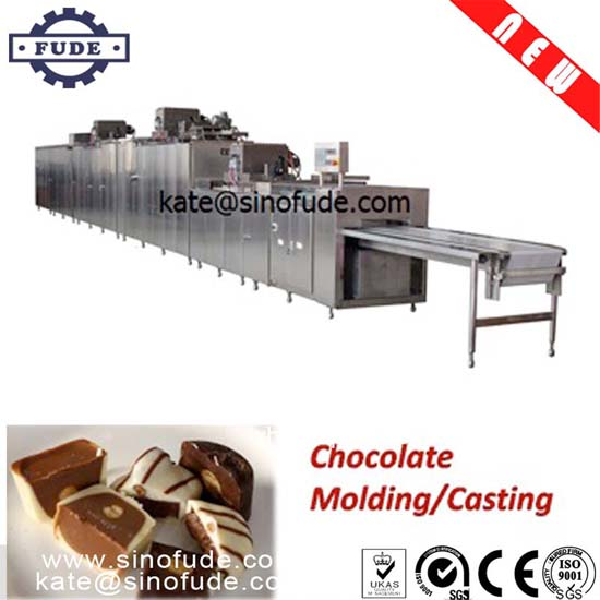 CJZ275A-3 Automatic chocolate moulding production line