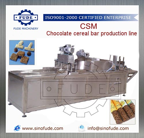 CSM Chocolate cereal bar production line